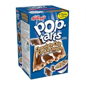Kellogg's Pop Tarts Frosted Chocolate Chip Cookie Dough.