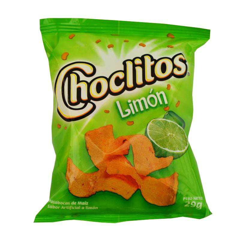 Choclitos de limón