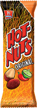 Cacahuates Hot Nuts Originales 50g