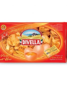 PAPPARDELLE ALL'UOVO DIVELLA 500g - Nº101