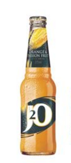 J2O ORANGE & PASSION FRUIT 275ML