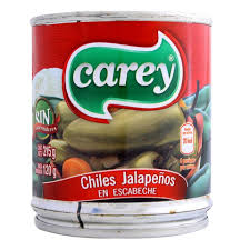 Jalapeño Entero 215g Carey