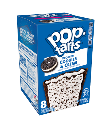 Pop Tarts Cookies & Cream 416 Gr Kellogg's