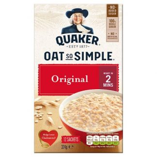 Quaker Oat so Simple 324g