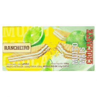 Wafer Rancheiro Limao 108g