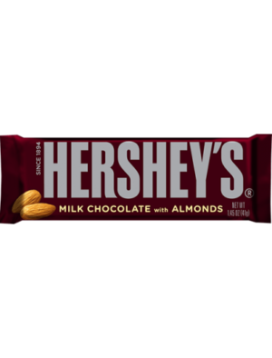 Milk Chocolate Almond Bar 43g Hershey's