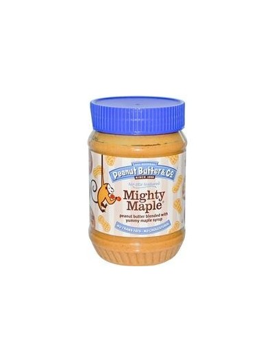 PB&CO Peanut Butter & Yummy Maple Syrup 454g