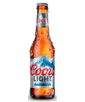 Cerveza Coors Light 330ml
